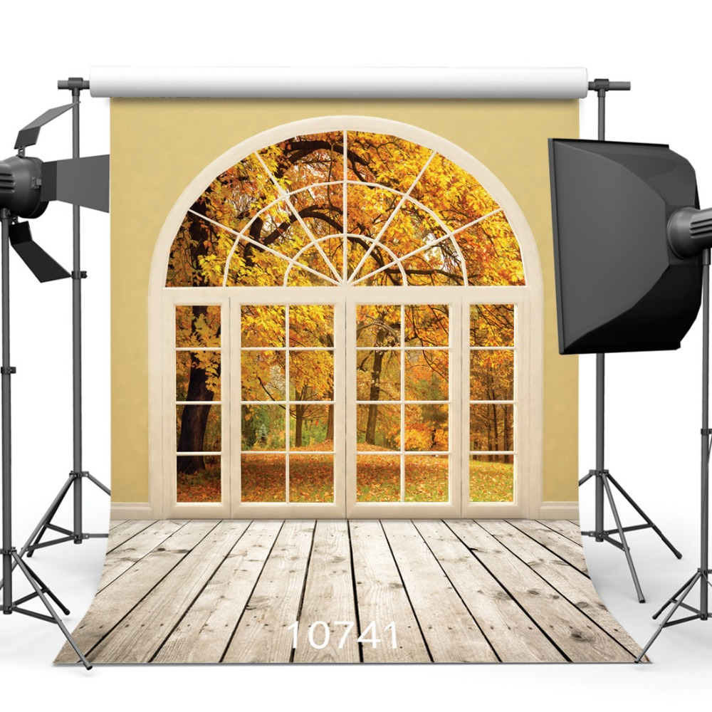 SJOLOON autumn photography background window forest wood photo backdrops children photography background photo studio viny prop sjoloon autumn photography background fall forest photography backdrops lover photography background photo studio thin viny prop