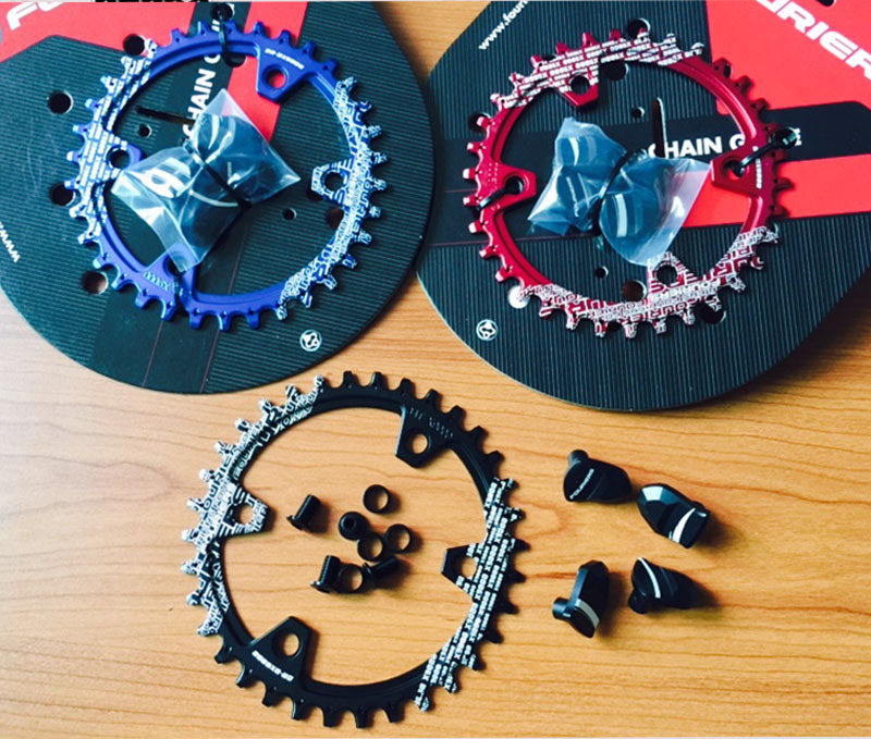 Fouriers Single Narrow Wide Teeth Chain Ring Chainrings Sprocket 30T 32T 34T 36T BCD 96mm for S H I M A N O X T R M9000 M9020 1pc fouriers cnc bike bicycle single chain ring 34t 36t chainrings p c d 104 for s h i m a n o oval shape narrow wide tooth