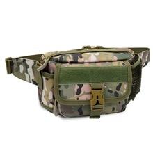 Outdoor Sport Marathon Running Waist Pack Travel Waterproof Multifunctional Practical Tactical Camouflage Military Equipment Bag