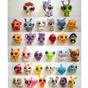 TOCALO 10pcs/lot All Cute Pet Shop Action Figure Toys LPS