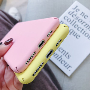 Image 3 - Candy Macaron Case For Samsung A50 A6 A7 A8 A9 J6 A6 Plus A8 Plus(2018) Matte Case For Samsung S8 S10E S8/S9 Plus Note 9 S7 Edge