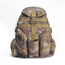2016 New Style YaKeda Brand 45L Outdoor Sports Waterproof Camouflage Backpack Camping&Hiking Bag with3 Colors for Men and Women