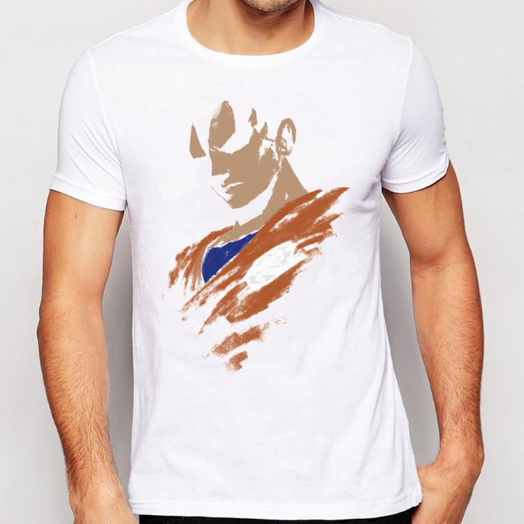 Dragon Ball Goku Custom Printed Short Sleeve Men 39 S T Shirt