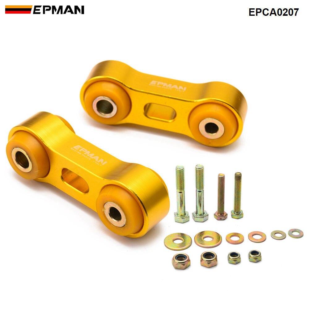 Epman para Subaru Impreza Classic GC8 1993-00 estabilizador delantero Anti balanceo barra final enlace barra estabilizadora trasera EPCA0207