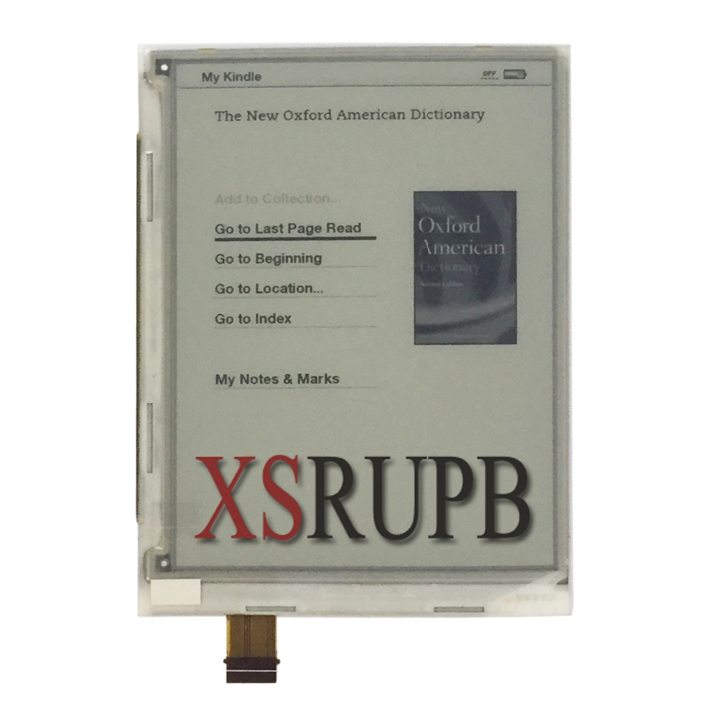 New 6.0'' 39PIN ED060SCA(LF) E-ink LCD Screen For Ebook Reader Raspberry Pi Display pm070wx6 lf lcd display pm070wx1 pm070wx5 lcd displays screen