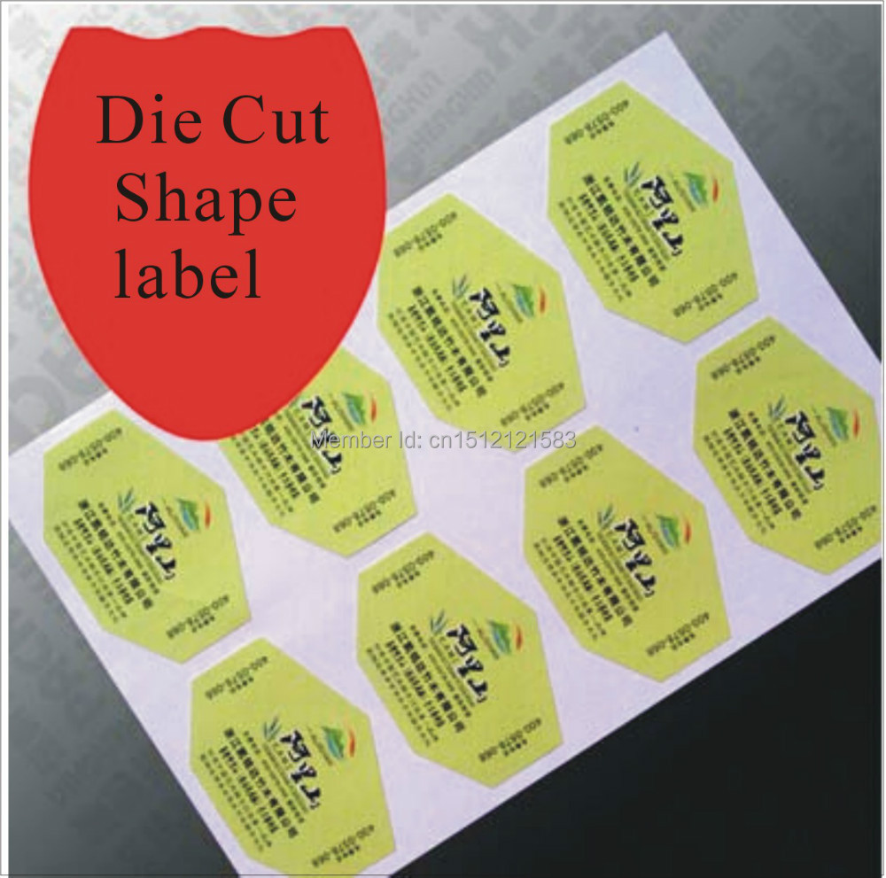 free shipping by fedex paper sticke label custom die cut shape customize print label stickers size 90x55mm get your own logo on aliexpress com alibaba  [ 1000 x 991 Pixel ]