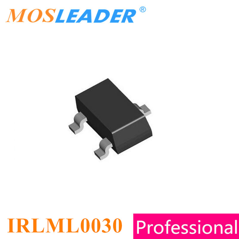 Mosleader IRLML0030 SOT23 3000PCS IRLML0030TR IRLML0030PBF IRLML0030TRPBF IRLML0030PBF 1 20V 30V Made in China High quality