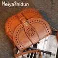 MeiyaShidun Старинные Маленькие женщины вестник мешки кошелек и сумки женщин выдалбливают crossbody сумки сумка bolsas feminina
