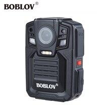 BOBLOV 33MP HD66-02 32 GB Ambarella A7 HD 1296 P Polícia Corpo Da Câmera Noite IR Visão 140 graus 3-4 Horas Gravador De Vídeo Da Câmera GPS