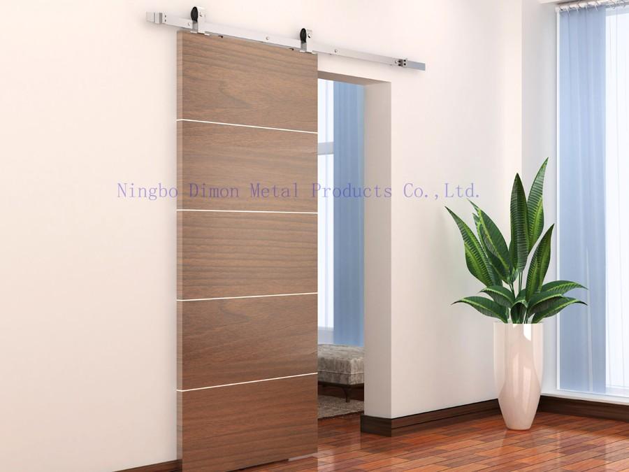 Mushi カスタマイズスライディングドアハードウェア木製納屋のドアハードウェアホイールアメリカスタイルスライディングドアハードウェア Dimon USD 12