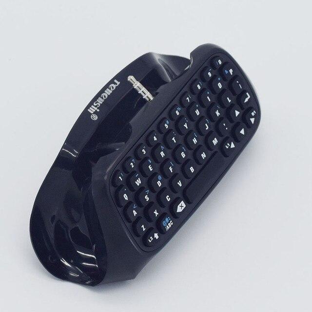 PS4 Keyboard Gaming Joystick PS4 Wireless Chatpad Play Station 4 Keyboard Pesan untuk PlayStation 4 Game Game Controller