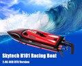 Skytech h101 2.4g controle remoto de 180 graus virar de alta velocidade elétrica 4 Canais RC Corridas de Lancha Barco de Brinquedo Das Crianças Do Miúdo toys