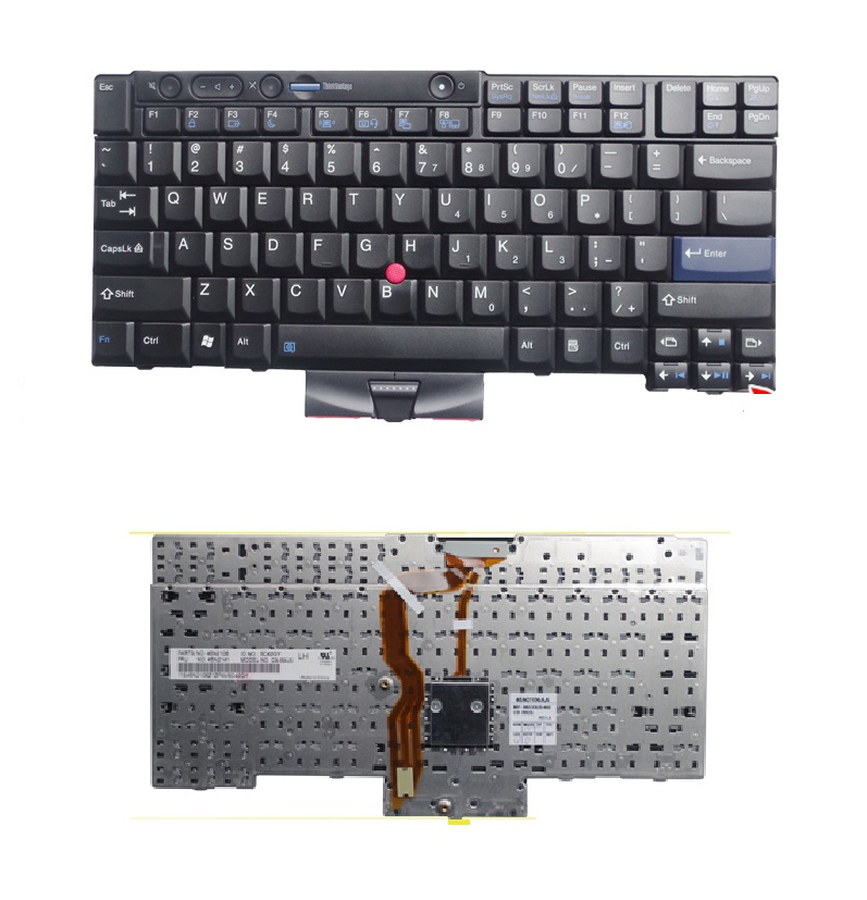 SSEA New US Keyboard for IBM Lenovo ThinkPad T400S T410S T410 T410i T420 T420S X220 X220I T510 W510 T520 W520 20v 6 75a 135w original ac adapter charger laptop power supply for lenovo thinkpad t530 t520 w530 w520 w510 3pin 45n0059 45n0055