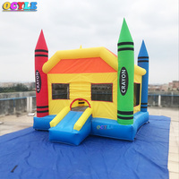 OCYLE Home Use Mini Inflatable Bouncer Castle Kids Outdoor Inflatable Games Bouncy House Ship By Express Door To Door Christmas
