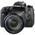 Canon  760D Rebel T6s DSLR Camera 24.2 MP 1080p Video Vari-Angle Touchscreen -Built-In Wi-Fi -Top LCD Panel