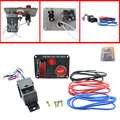 Auto racing  Switch Panels red cover toggle switch 12V 20A racing ignition switch panel engine start