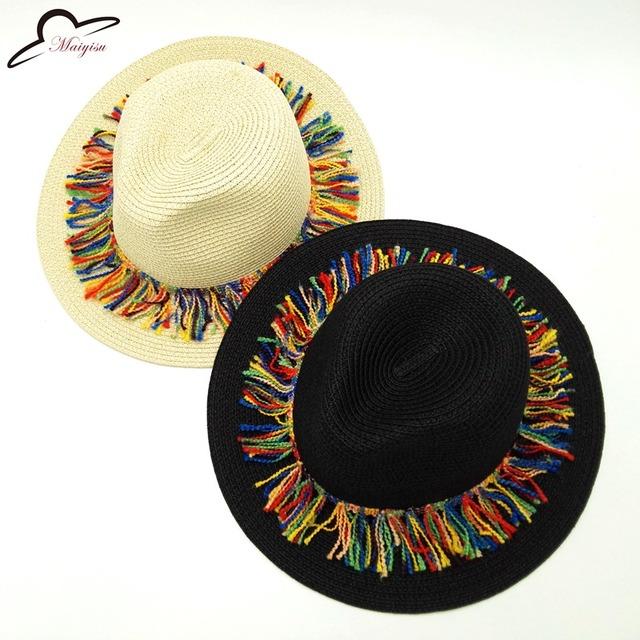 Summer Women Sun Hats Sweet Colorful
