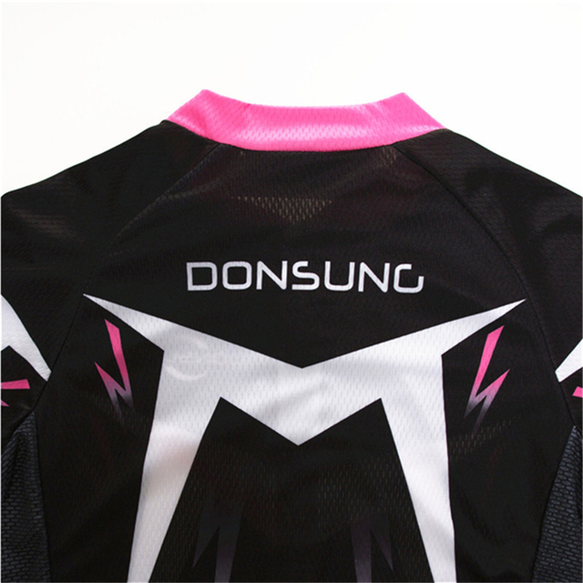 DONSUNG Summer Short Sleeves Cycling Jerseys Women Breathable Outdoor Sports Wear Bike Clothes Ciclismo Feminino Cycling Jersey