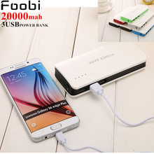 Original 3USB power  Mi Power Bank 20000mAh New Portable Mobile Power Bank MI Charger 20000mAh Dual USB For Phone,Netbook