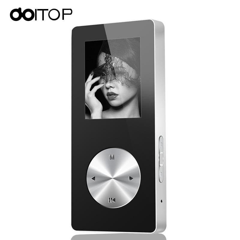 Doitop Bt Mp3 Mp4 Player Hifi Mp4 Player Full Metall Sport Mini Walkman Mit Lautsprecher Unterstützung Tfcard Fm Uhr Spiel Recorder Waren Des TäGlichen Bedarfs Tragbares Audio & Video Unterhaltungselektronik