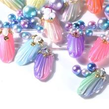 Hot sale Nail Polish Shell Mermaid Paint Sweet Nails Art Glitter Refreshing