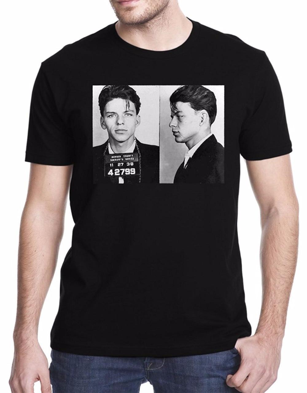 New FRANK SINATRA Classic Music Legend Men/'s Black T-Shirt Size S M L XL 2XL 3XL