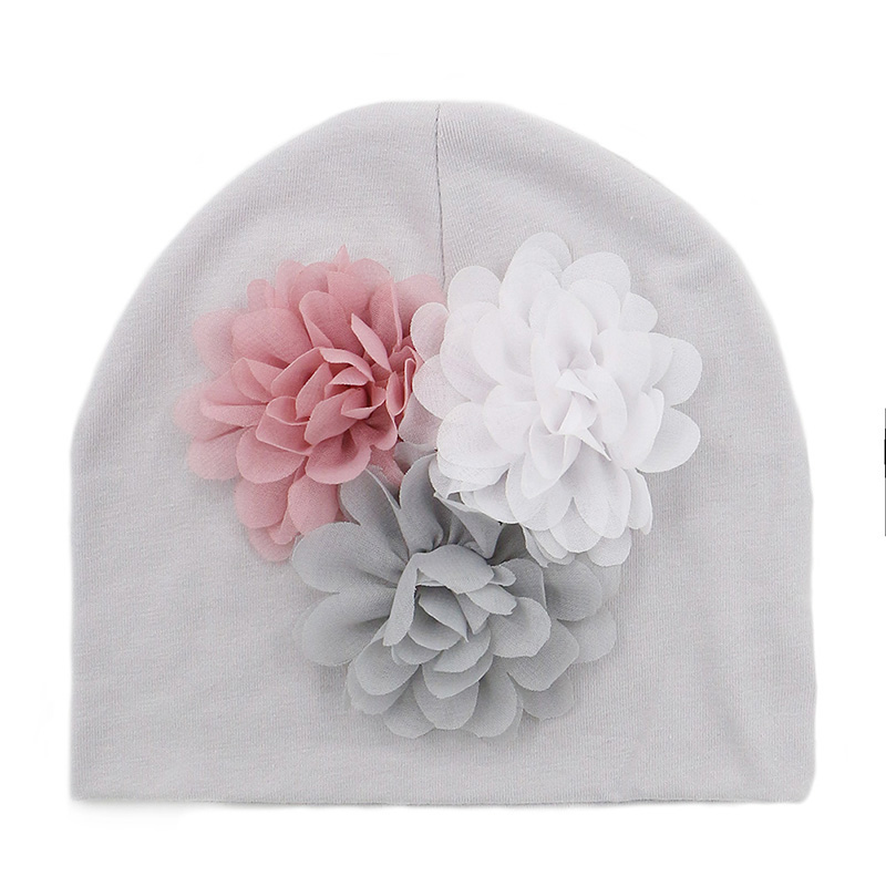 Dropwow GZHilovingL 2018 New Soft 100 Cotton Flower Hat For Newborn ... a225472a4df9