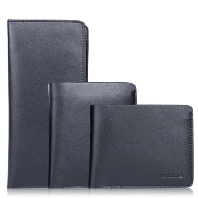 Diseñador Carteras de Marca Famosa de Cuero Hombres Cartera billetera hombre de Harrm Billetera Para Hombre 3 Estilo de la Alta Calidad