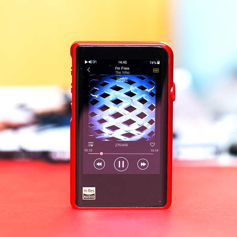 SHANLING M2X MP3-плеер bluetooth USB DSD hifi плееры ak4493eq декодер DAC музыкальный плеер без потерь hi-res flac DSD256 сбалансированный