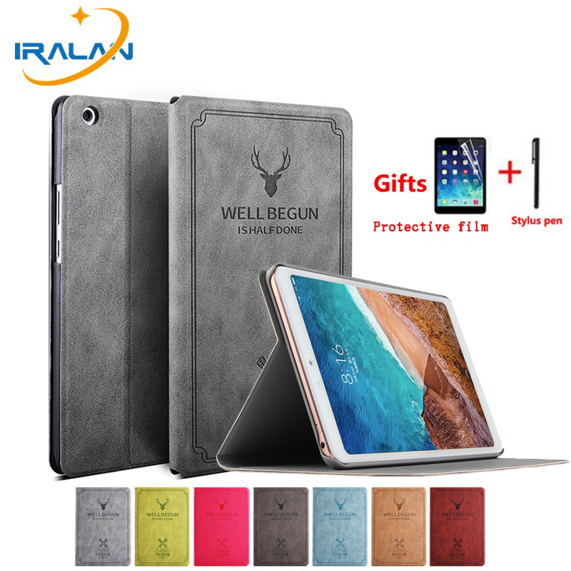 Leather Cartoon Case for Xiaomi Mi Pad 4 Plus MiPad4 Plus 10 1 inch Tablet Cases