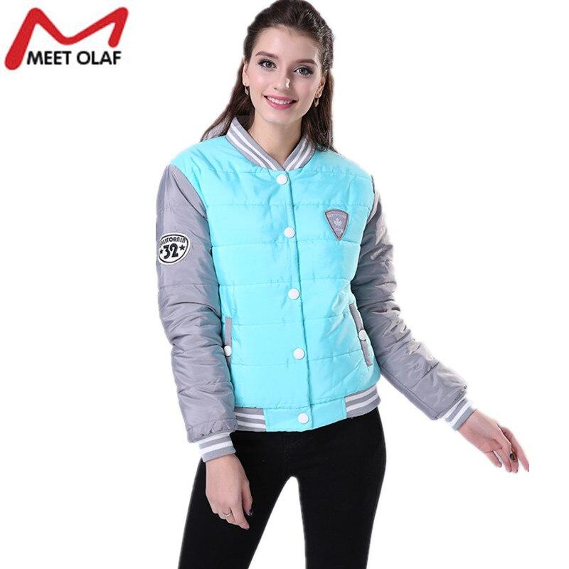 2017 New Winter Jacket Women Fashion Uniform Warm Jackets Winter Coats Women Cotton Padded Female Parkas Women's Wadded YL016
