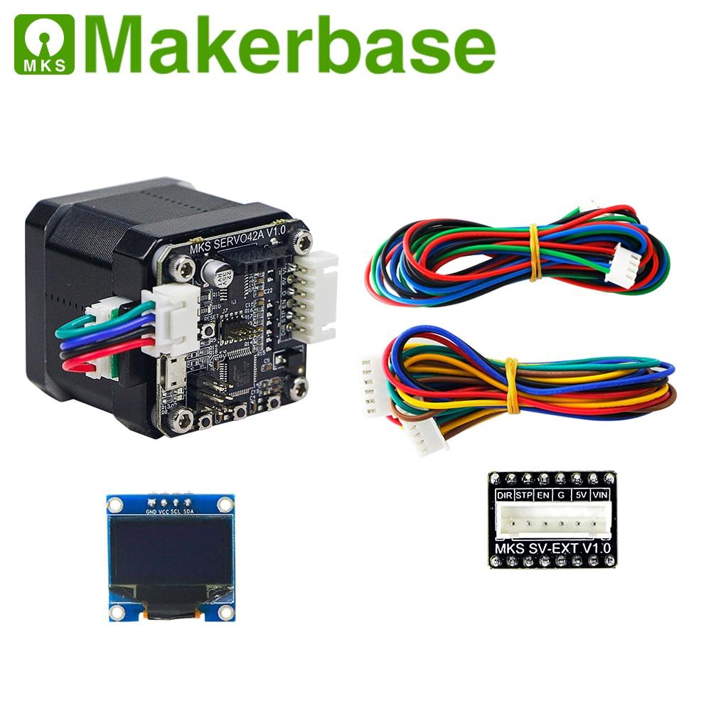 3d printer  closed loop stepper motor NEMA17 MKS SERVO42  developed by Makerbase that prevents losing steps