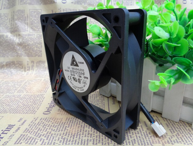 The original 12V 1.20A Delta EFB1212VHF 120*120*32 12 cm rape wind fan