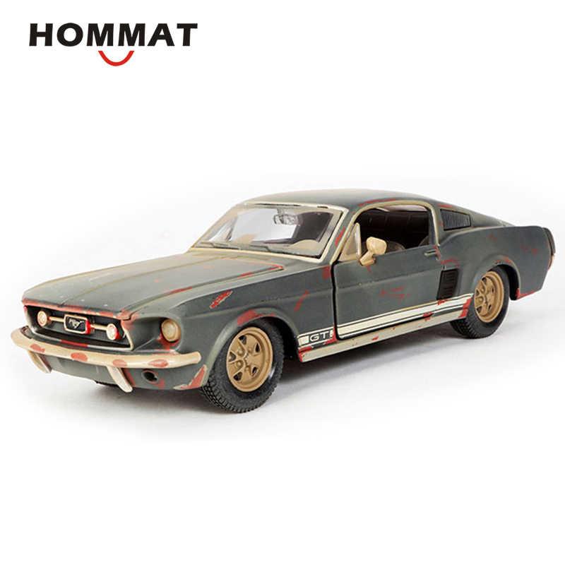 Hommate моделирование Maisto 1:24 старые друзья Ford Mustang GT 1967 сплав Модель автомобиля игрушки литые Автомобили Модель автомобиля коллекционный подарок