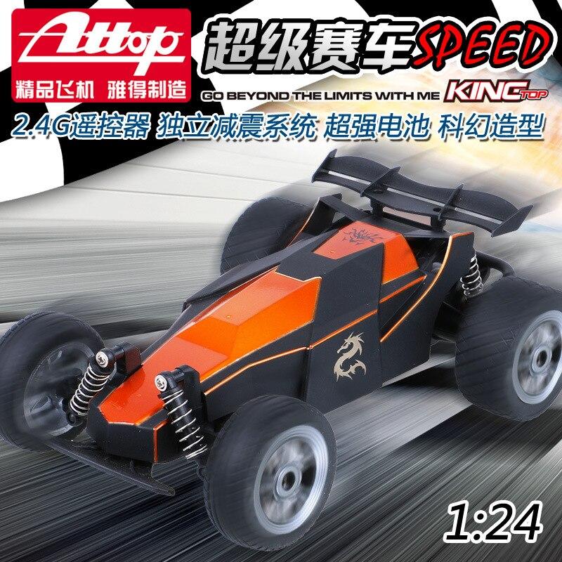 все цены на 2016 hot sell 003 Formula RC Electronic Racing Car 1/24 2.4GHz High Speed Monster Rc Racing Car With Transmitter RTR Control онлайн