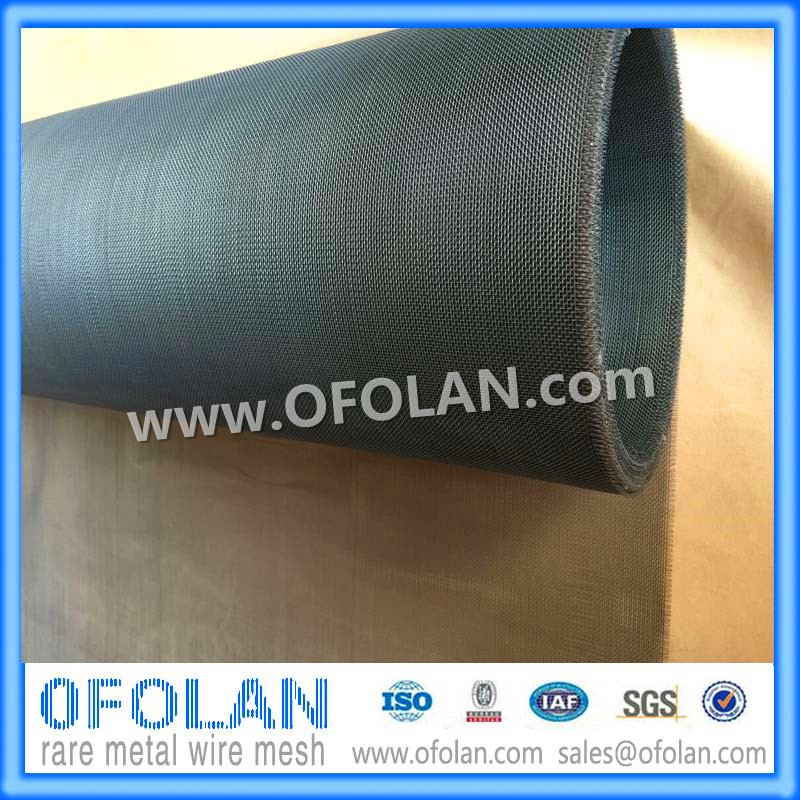(MO1>99.95%)Hole Size 1.0mm (20mesh) Molybdenum Wire Mesh/cloth 1000mm*1000mm Stock Supply