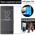 never broken Nano Explosion-proof Soft Glass Clear Screen Protector Protective Lcd Film For Sony Xperia XA