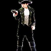 Costume di Halloween gentleman abbigliamento pirata partito Pirati dei caraibi costumi pirata degli uomini vestiti set