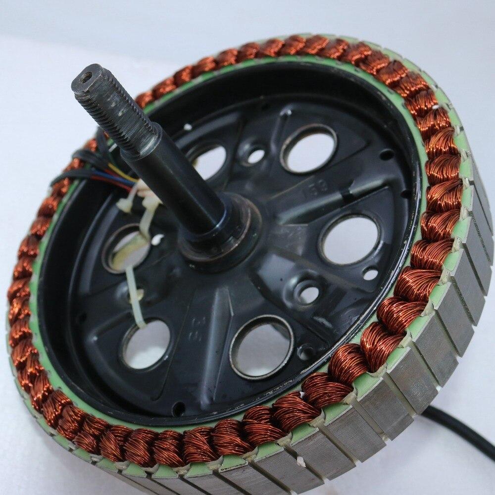 E-bike Hub Spoke Motor 48V 1000W Brushless DC Motor coil for Rear Wheel 135mm dropout size