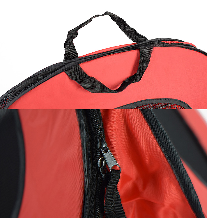 Pet Cat Carrier Bag Cage Portable Collapsible Multi-functional Tent Shape Design Patrern Folding Easily for Dog Cat 12