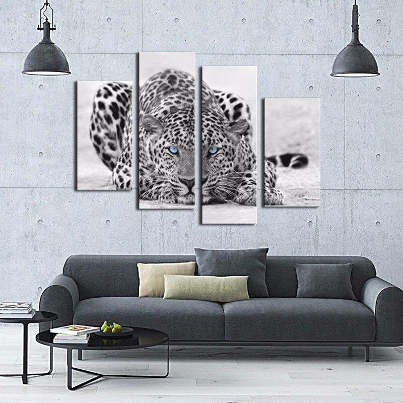Aliexpress.com : Buy 4 Picture Combination Black & White Wall Art ...