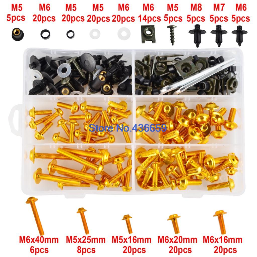 M5 M6 полный обтекатель болты винт для поездок на мотоцикле Ducati 748 749 750SS 848 900SS 916 996 998 999 1098 1098S 1199 Panigale