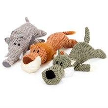 JORMEL Dog toys Cute Pet Cat Plush Squeak Sound Funny Fleece Durability Chew Molar Toy Fit for All Pets