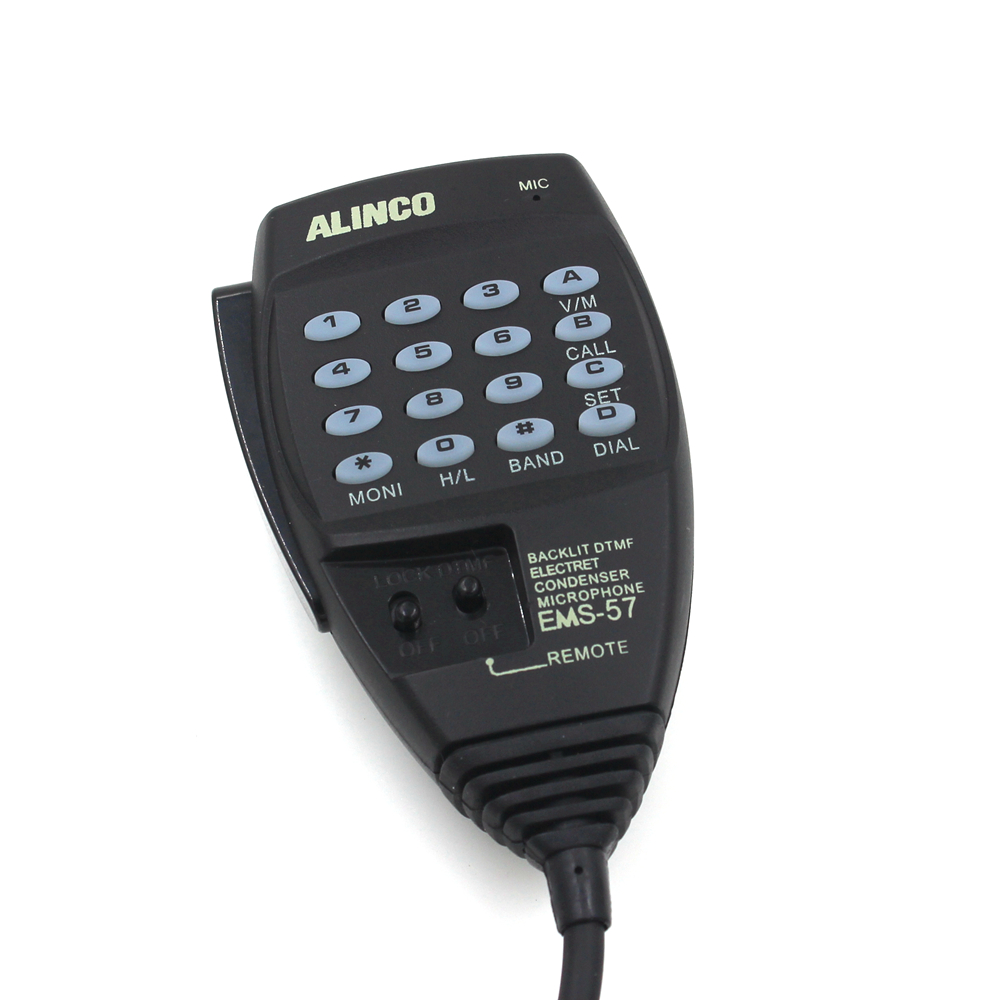 Alinco EMS-57 8pin DTMF Hand Mic microphone for HF/Mobile DX-SR8T DX-SR8E DX-70T DX-77T with free shipping