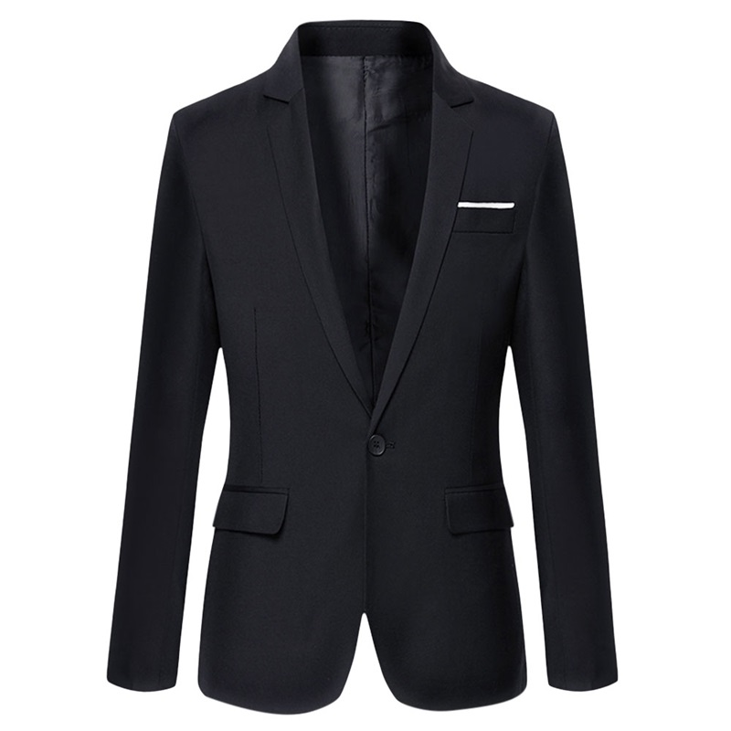 2017 Neue Ankunft Kleidung Herbst Blazer Männer Mode Schlanke Männliche Anzüge Casual Einfarbig Blazer Größe M-3xl Einen Effekt In Richtung Klare Sicht Erzeugen