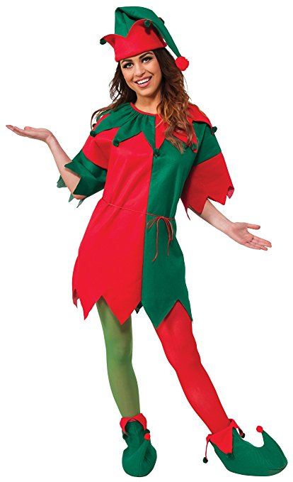 0c978353862 US $23.79 49% OFF|Eraspooky Christmas Costume Miss Santa Costume Christmas  Dress Women Christmas Elf Costume Hat Coat Shoes Set New Year Cosplay-in ...