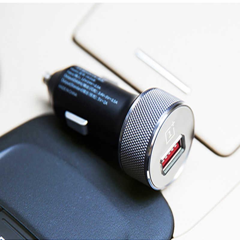 100% الأصلي Oneplus 6 داش شاحن سيارة داش تهمة 3.4 فولت ~ 5 فولت = 3.5A القياسية 5 فولت = 2A ل Oneplus 6/3/3t 5/5 T ل One plus 6 5 5T