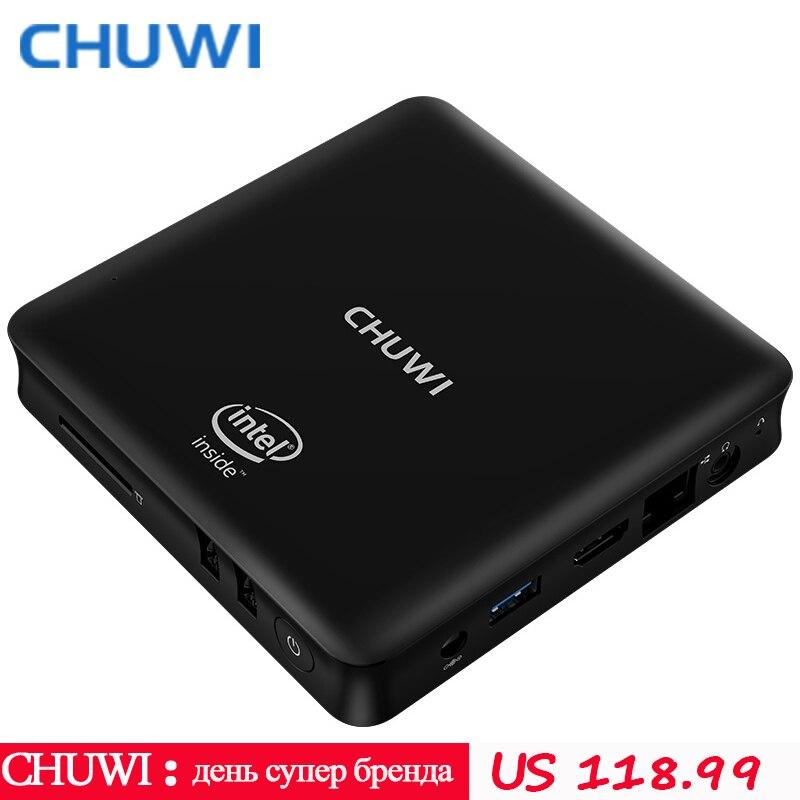 CHUWI Mini PC HiBox hero Intel X5 Z8350 4GB RAM 64GB ROM Android 5 1 Window10