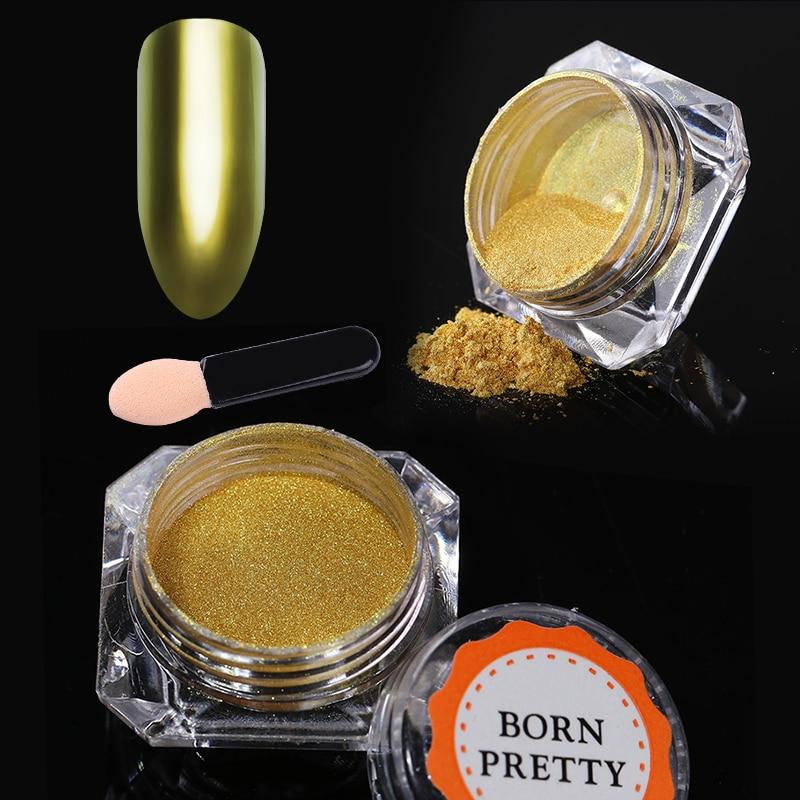 Nail Glitter Mirror Powder Holografische Chameleon Chrome Pigment - Nagel kunst - Foto 2