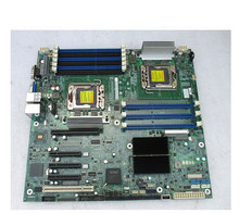 S5520HC Dual 1366 X58 Server Board Support Xeon 6-core ECC REG Memory 9 Memory Slots used 90%new(China)